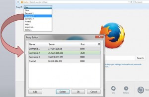 Mozilla Proxy IP